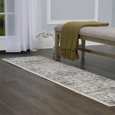 Tangela Distressed Ivory/Gray Area Rug