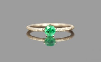 kataoka Emerald Stardust Ring