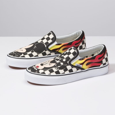 Vans x Disney Classic Slip-On Sneakers