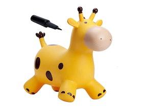 HappyHopperz Ride-On Bouncy Gold Giraffe (1+)