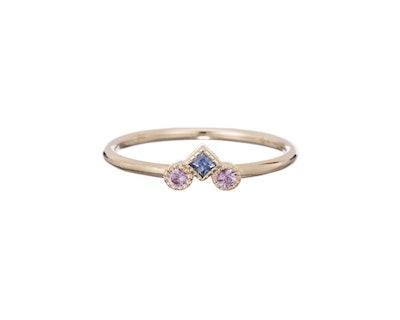 Jennie Kwon Designs Sapphire Pillar Ring