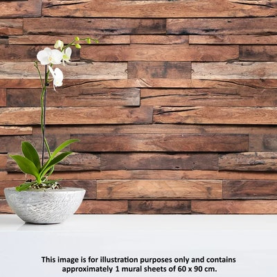 Flexiplus Timber Wall Decal