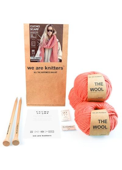 Chucho Scarf Knitting Kit (Beginner Level)