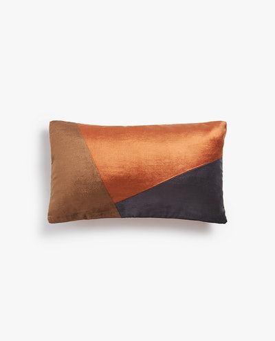 Patchwork Pattern Throw Pillow Cover