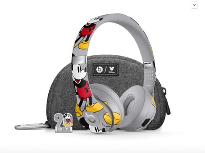 Mickey Mouse 90th Anniversary Edition Beats Solo3 Wireless Headphones