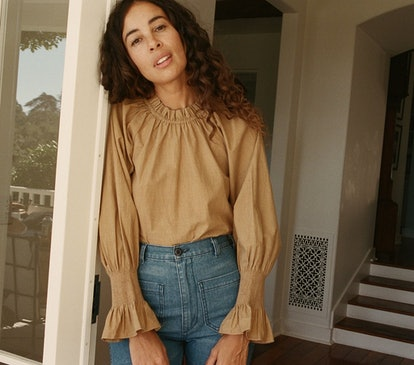 Harper Top in Camel