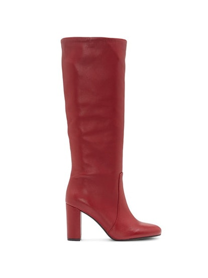 Sessily Round Toe High-Heel Boots