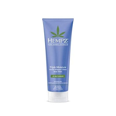 Hempz Triple Moisture Herbal Whipped Crème Body Wash, 8.5 oz.