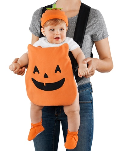 Little Jack-O-Lantern Halloween Carrier Costume