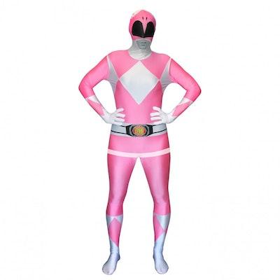 Pink Power Ranger Morph Suit