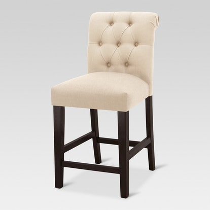 Sterling Tufted Counter Stool - Natural - Threshold