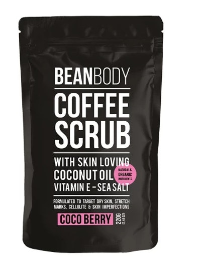 Bean Body Coffee Scrub - Coco Berry - 220g
