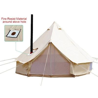 PlayDo 4-Season Waterproof  Bell Tent