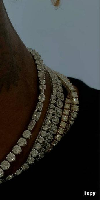 9b0ecc5286b3 The Photos Of Kylie Jenner & Travis Scott's Matching Stormi Jewelry Will  Fill You With Joy