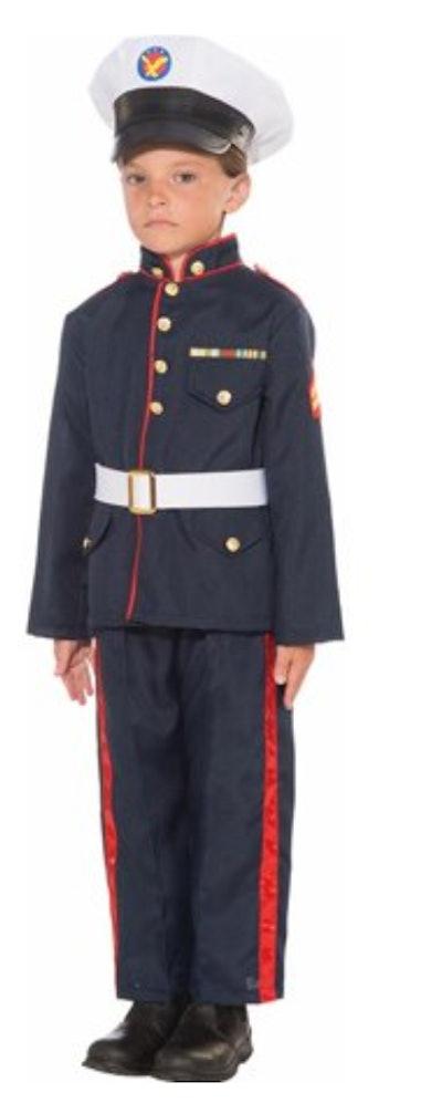 Formal Marine Kids Costume