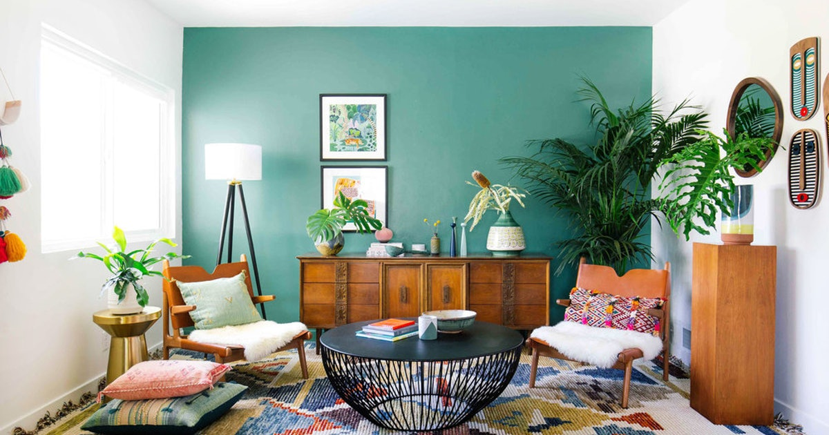 10 Living Rooms That Will Make You Want To Redecorate: 6 Accent Wall Tips That'll Make You Want To Redecorate