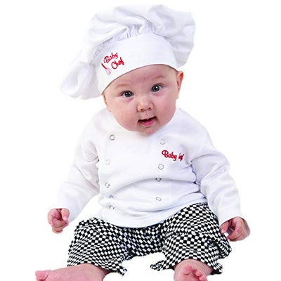Baby Aspen Baby Chef 3 Piece Layette in Culinary Gift Box