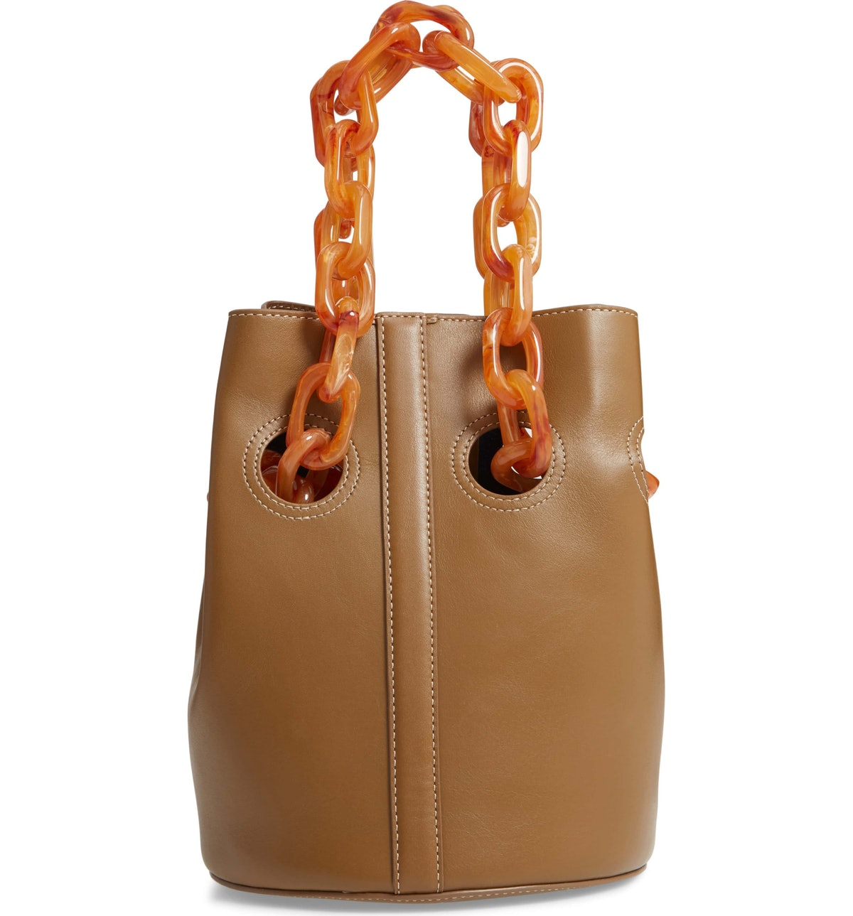 Goodall Leather Bucket Bag
