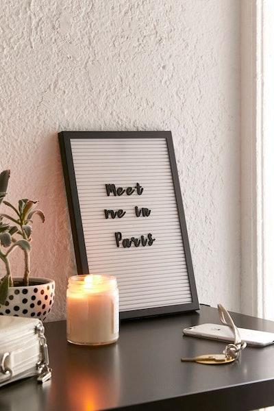 Script Letter Board