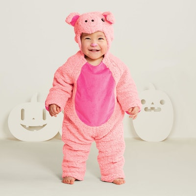 Baby Plush Pig Halloween Costume 0-6M