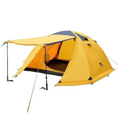 Geertop 4-Person 4-Season Large Family Tent