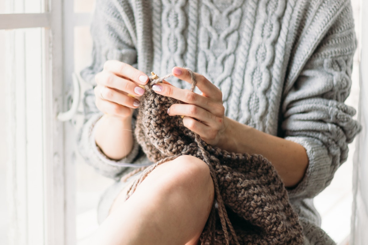 How Knitting Relieves Stress, According To Science