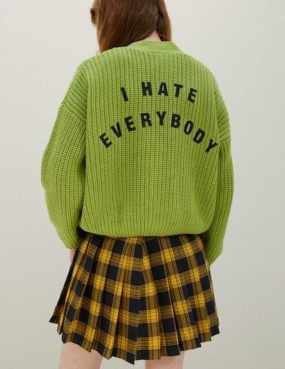 Lazy Oaf x Daria I Hate Everybody Cardigan