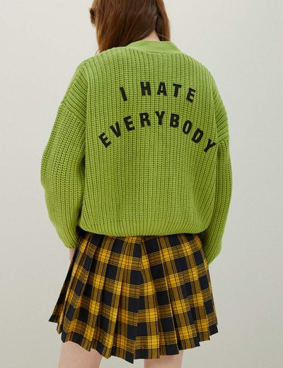 Lazy Oaf x Daria I Hate Everybody Cardigan