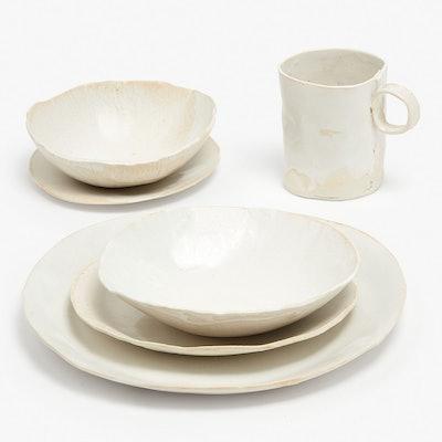 Jan Burtz Porcelain Dinnerware White