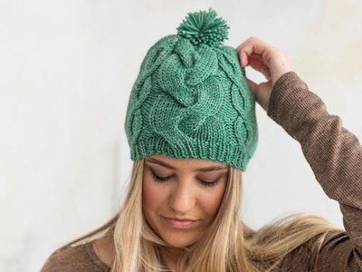 Startup Project: Grace Street Hat Knitting Kit