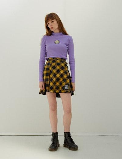 Lazy Oaf x Daria I Don't Like To Smile Skirt