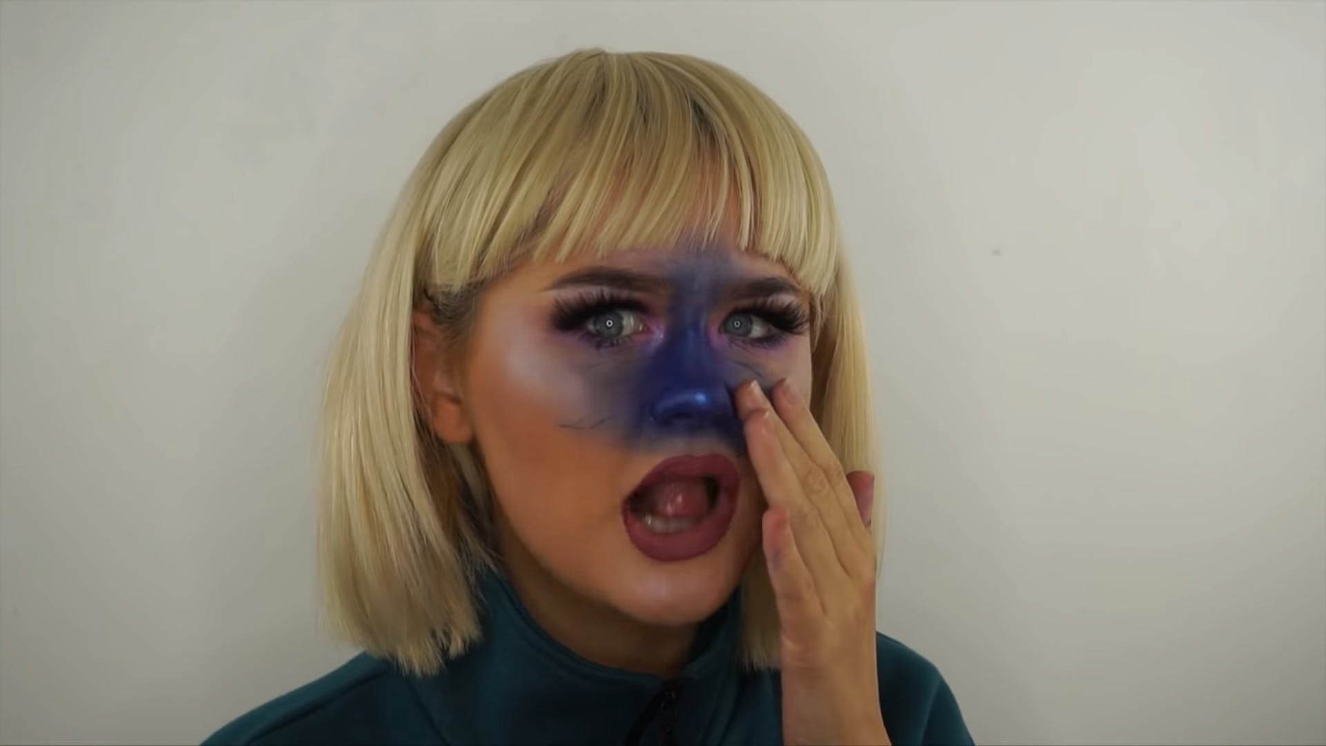 Violet Beauregarde Halloween 2018 Makeup Is Going Viral On Instagram Seriously No One Saw It Coming