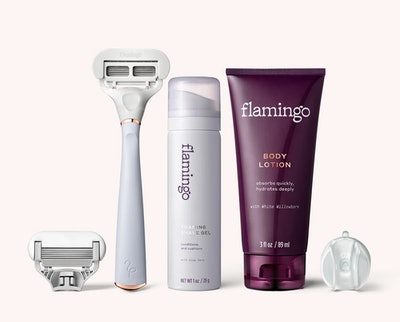 Flamingo Razor Shave Kit