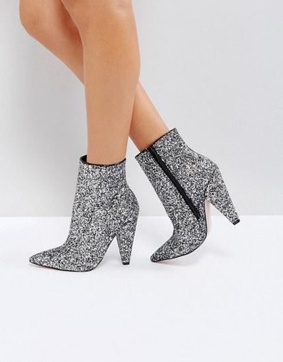 ASOS Eileen Heeled Ankle Boots