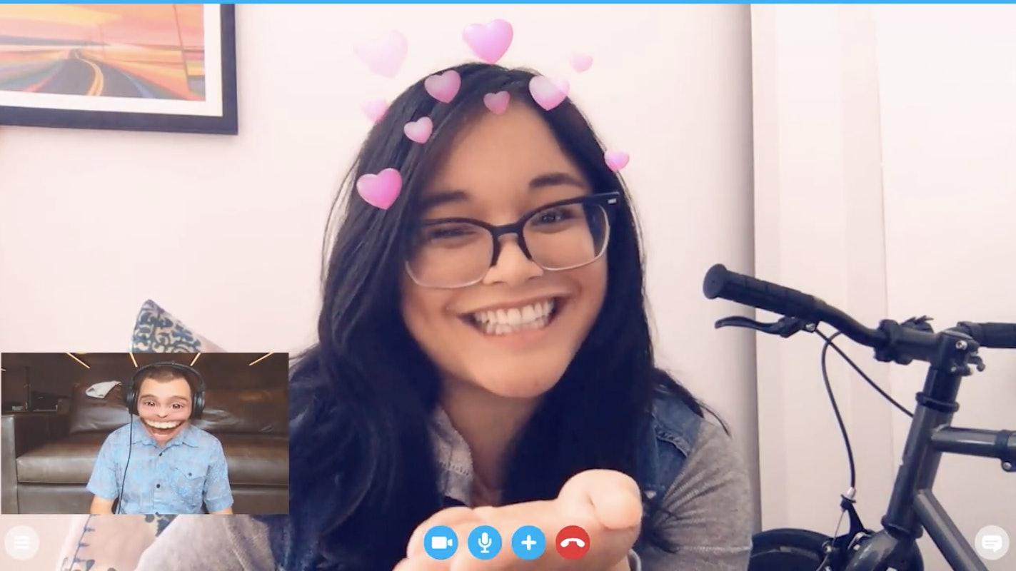 How To Use Snap Lenses On Desktop For Skype, YouTube, Or