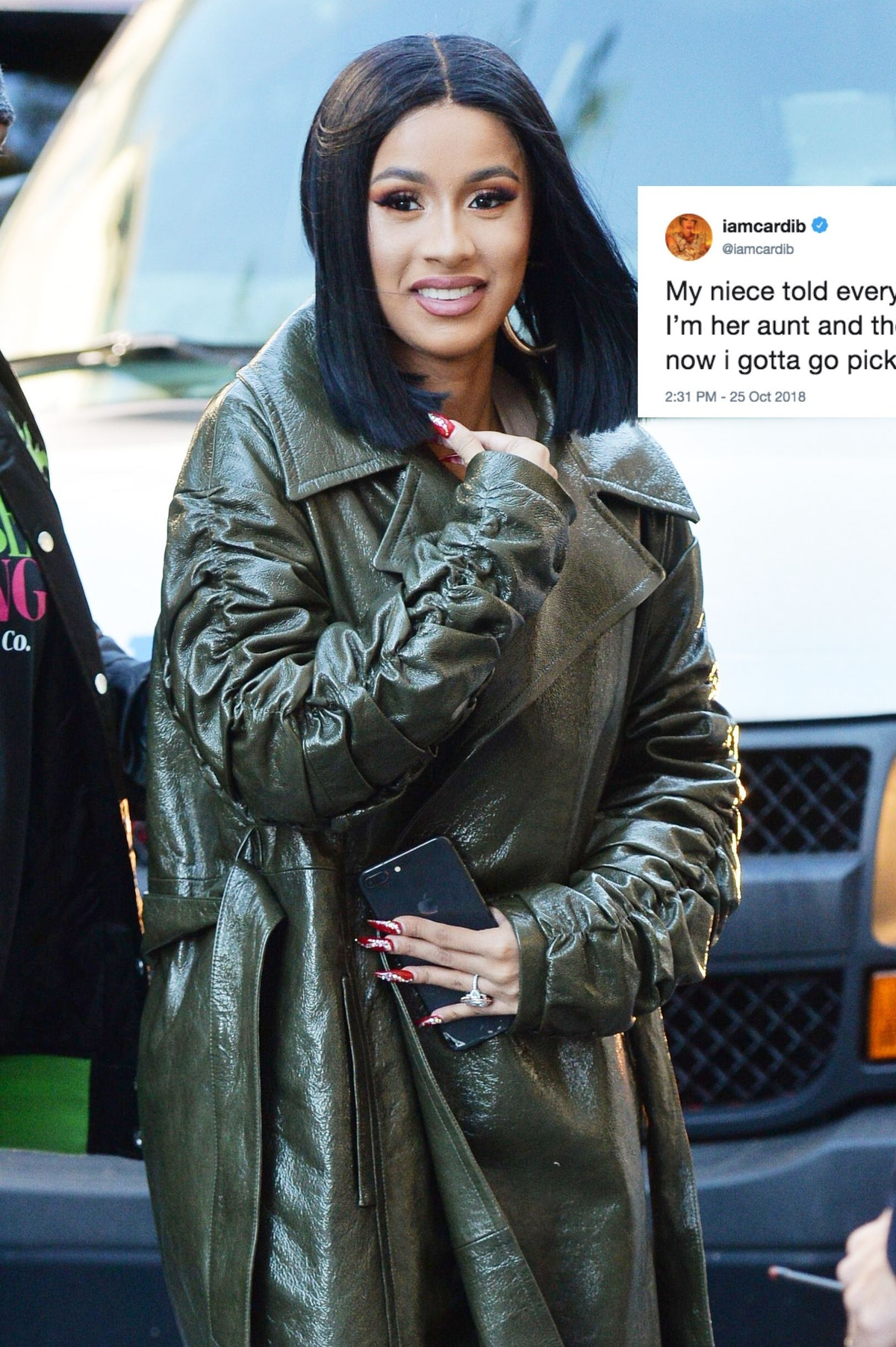 Cardi B's Tweet About Picking Up Her Niece From School Is Spurring The Best Responses