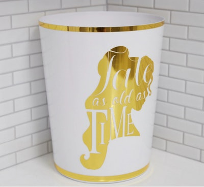 Belle Silhouette Trash Can