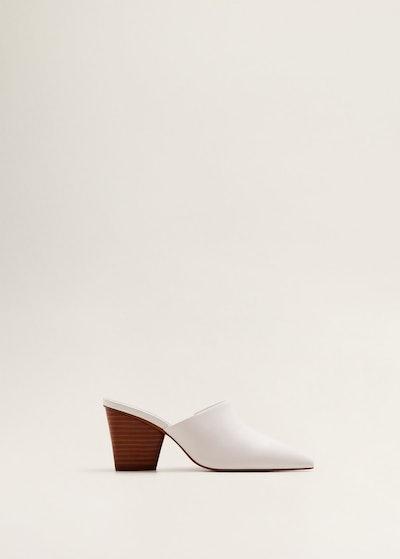 Heel Leather Mules