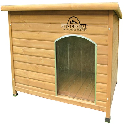 Pets Imperial Extra Large Insulated Wooden Dog Kennel