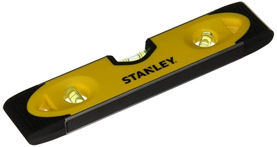 Stanley 43-511 Magnetic Shock Resistant Torpedo Level