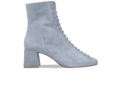 Becca Jeans Blue Suede Boots