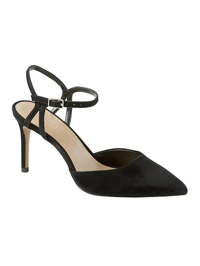 Banana Republic Madison 12-Hour Side Cut-Out Pump