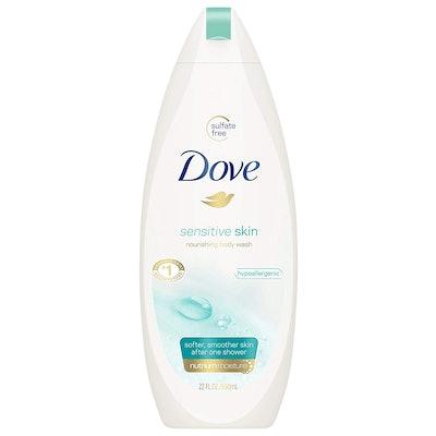 Dove Sensitive Skin Nourishing Body Wash, 22 oz.
