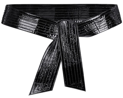 Bow Leather Belt
