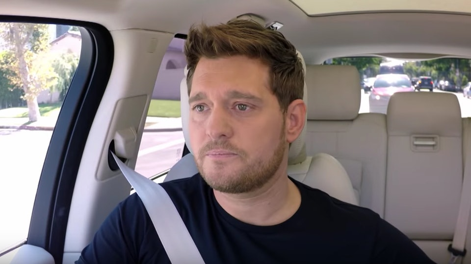 Michael Buble Gets Emotional with James Corden Following His Son\'s ...