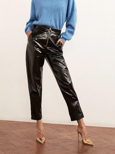Eleonora Vinyl Trousers