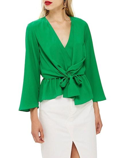 Tiffany Asymmetrical Blouse