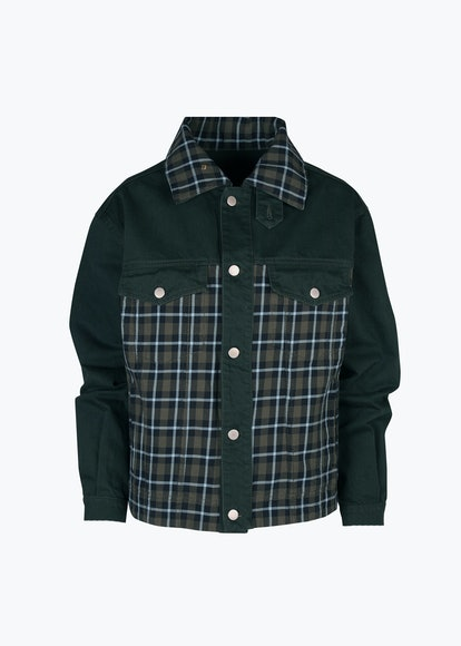 Mastodone Check Jacket