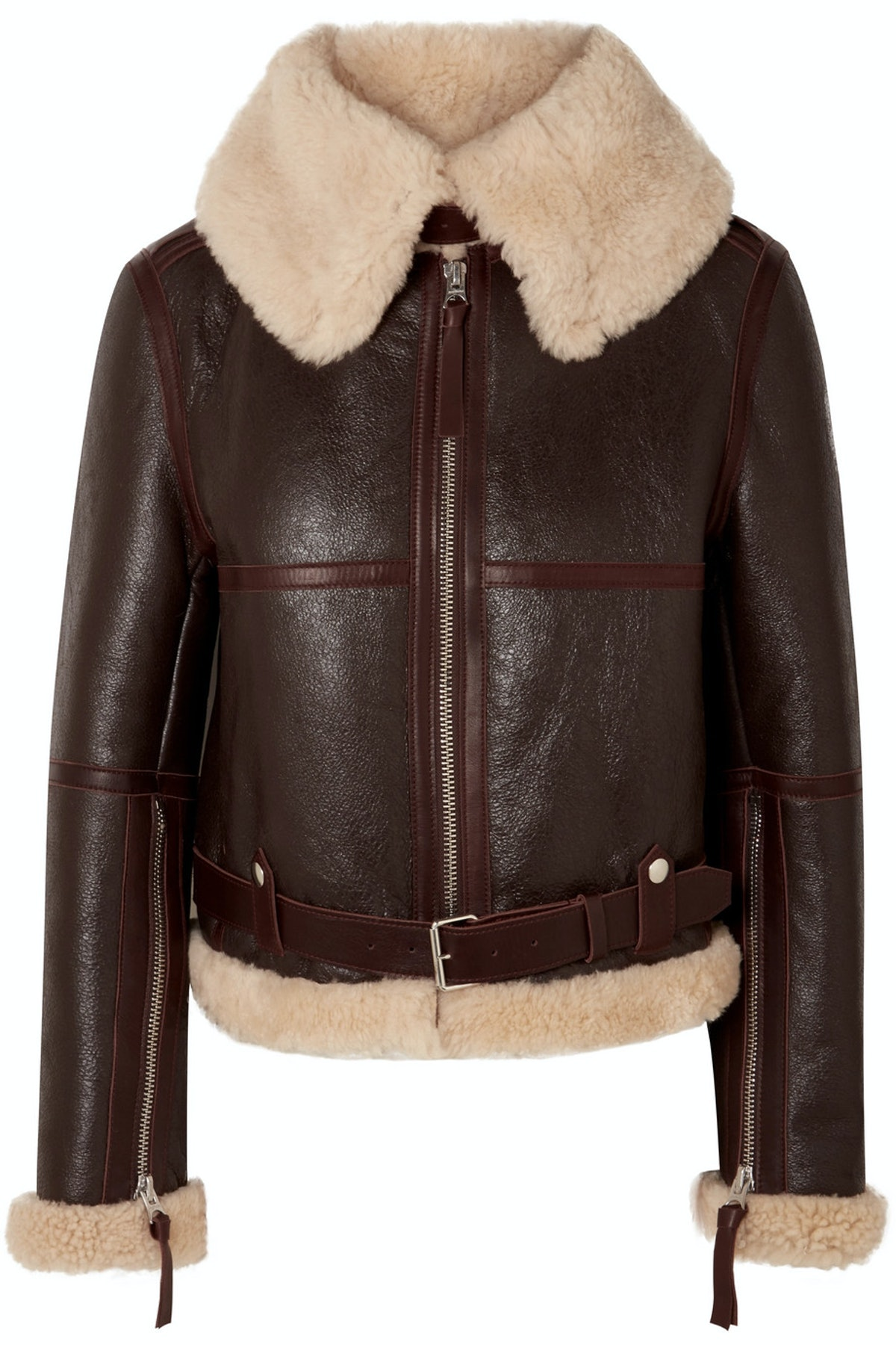 Midsize Shearling Jacket