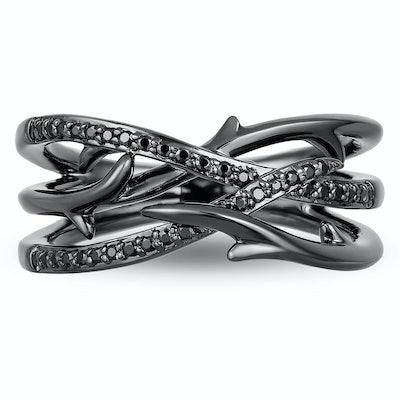 Enchanted Disney Fine Jewellery Diamond Maleficent Ring